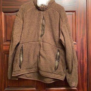 Kuhl Brown Fleece Jacket